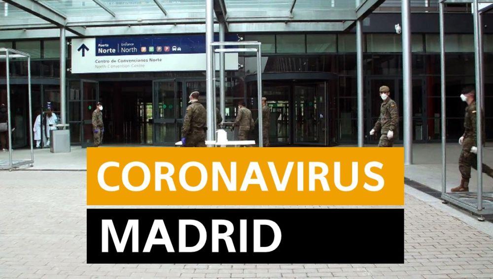 Coronavirus Madrid hoy: Última hora, en directo