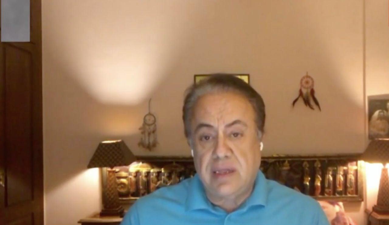 Alfonso Morán, médico y paciente curado de coronavirus