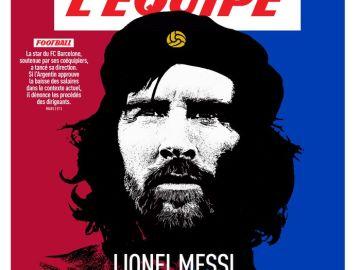 Messi, 'El che del Barça'
