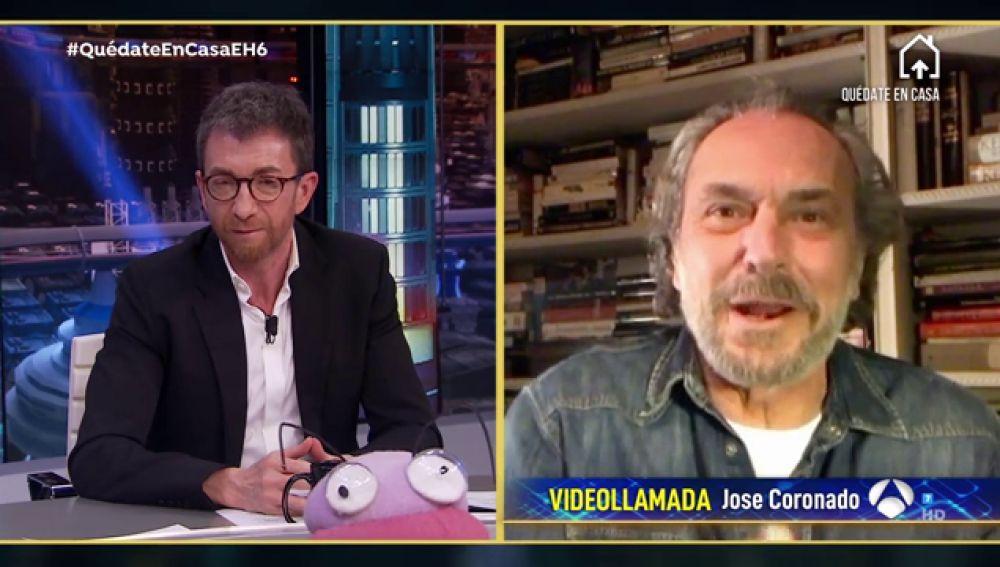 Revive la entrevista completa a José Coronado en 'El Hormiguero 3.0: Quédate en casa'