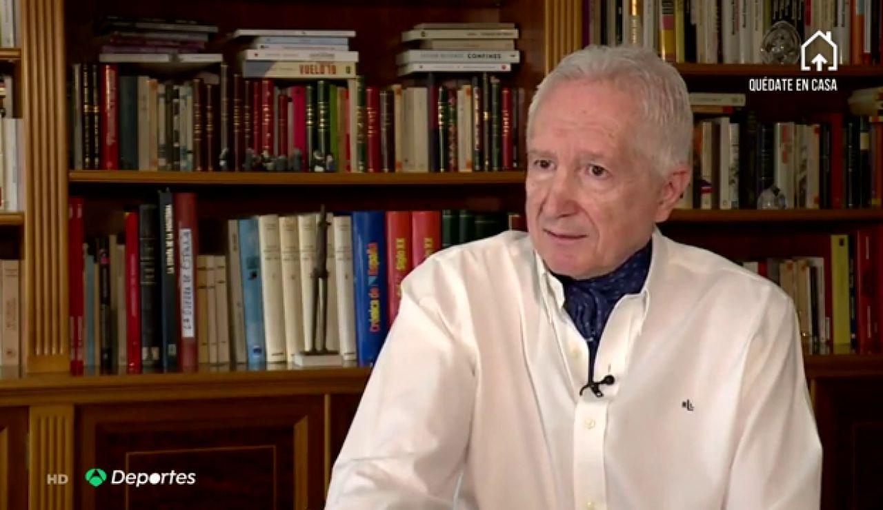 """Carlos Toro, el periodista deportivo que compuso 'Resistiré': """"Simbolizará la resistencia al coronavirus"""""""