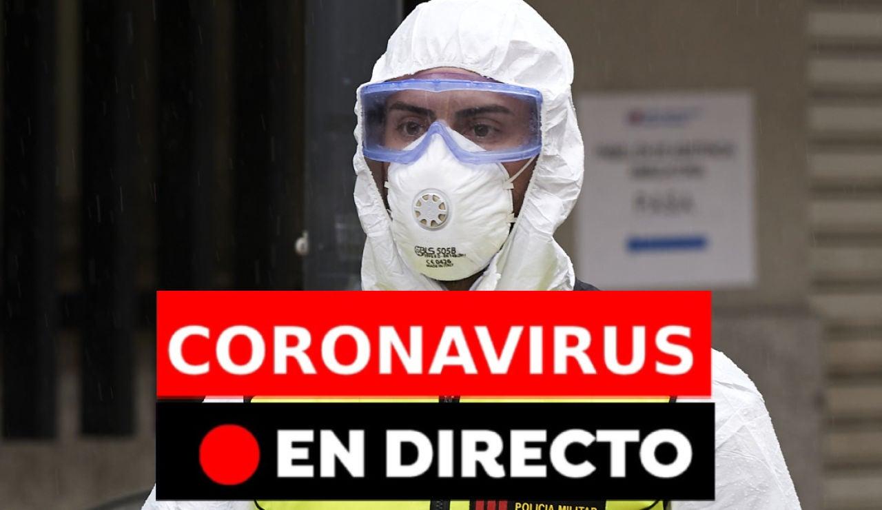 Coronavirus España: Última hora y nuevos casos, noticias de última hora en directo