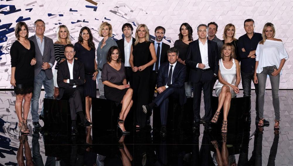 Presentadores y directores de Antena 3 Noticias
