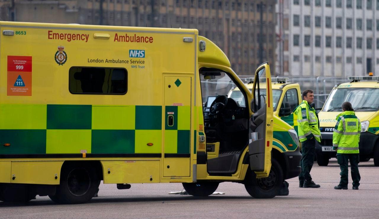 Una ambulancia en Londres
