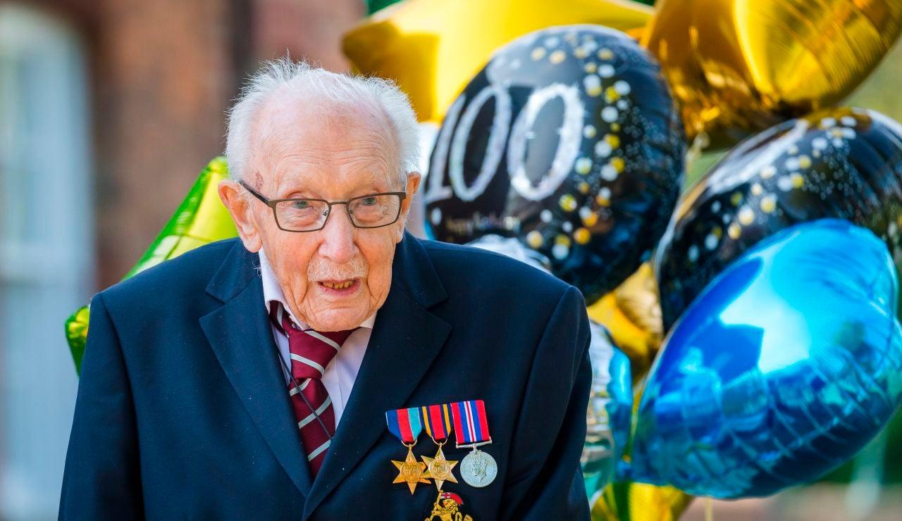 Tom Moore, veterano de guerra de 99 años