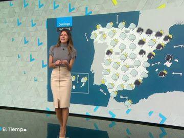Llega un domingo sin cambios en las temperaturas con posibilidad de tormentas por la tarde