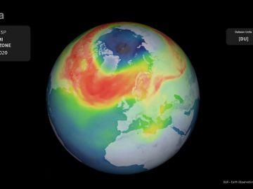 La capa de ozono tiene el agujero más grande de su historia en el Ártico