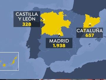 ¿Qué comunidades autónomas serán las primeras en iniciar el desconfinamiento en España?