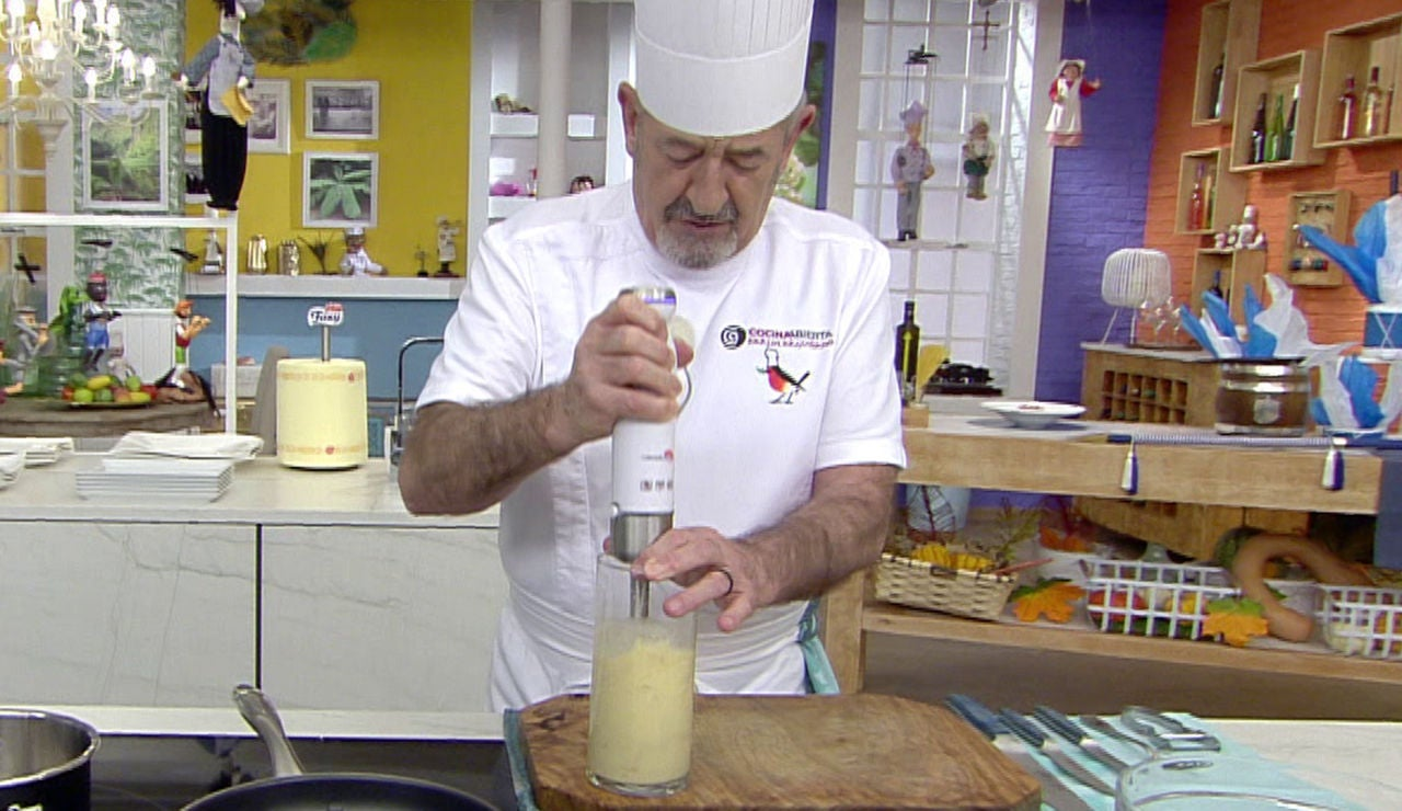 La especial salsa casera de Karlos Arguiñano que podrás sustituir por el alioli