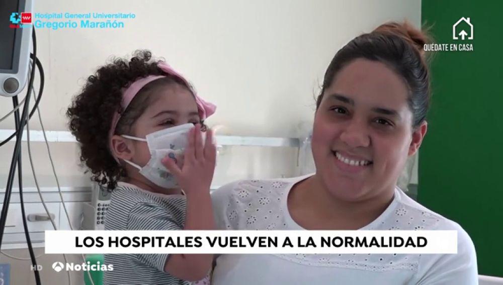 Dan de alta a la que se realizó un trasplante de corazón en plena pandemia de coronavirus en el Hospital Gregorio Marañón