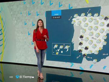 Tu Tiempo (19-04-20) Probables lluvias y tormentas en Cataluña y en el sureste peninsular