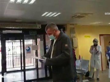 Un hospital agradece a un taxista su generosidad con dinero y un test de coronavirus