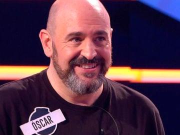 Óscar Díaz, concursante del equipo de 'Los dispersos' en '¡Boom!'