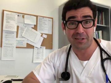 """Iván Moreno, médico en el hospital de Valencia: """"En otoño, esta película va a ser completamente diferente"""""""