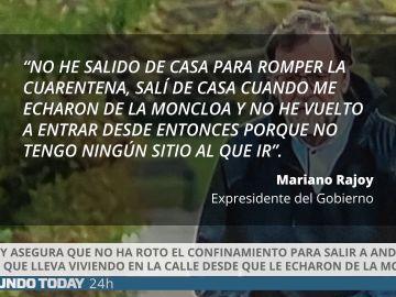 El Mundo Today sobre el confinamiento de Rajoy