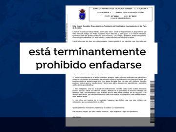La alcaldesa de La Pola de Gordón, León, prohíbe enfadarse durante la cuarentena por coronavirus