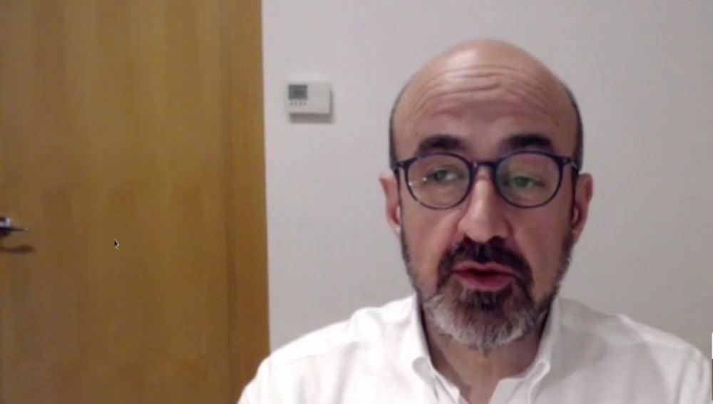 José Augusto García, presidente de la Sociedad Española de Geriatría