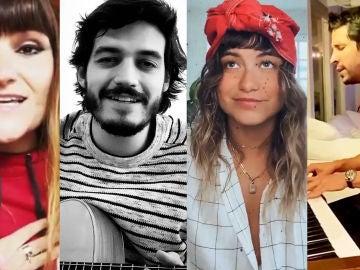 Rozalén, Morat, Sofía Reyes, Greeicy, Cali y El Dandee... así son las versiones de los artistas que se unen al #SiTúLaQuieresChallenge