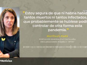 """Budó cree que en una Cataluña independiente habría habido """"menos muertos"""""""