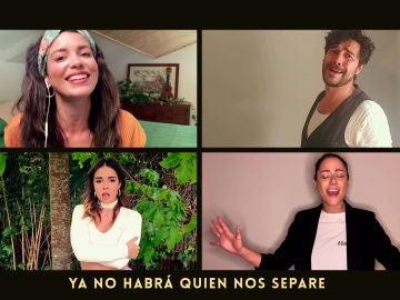 La espectacular sorpresa en forma de canción de los actores de 'Amar es para siempre' con Lagarto Amarillo