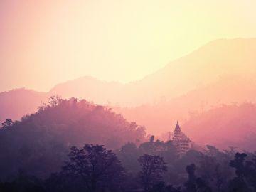 Templo en Rishikesh
