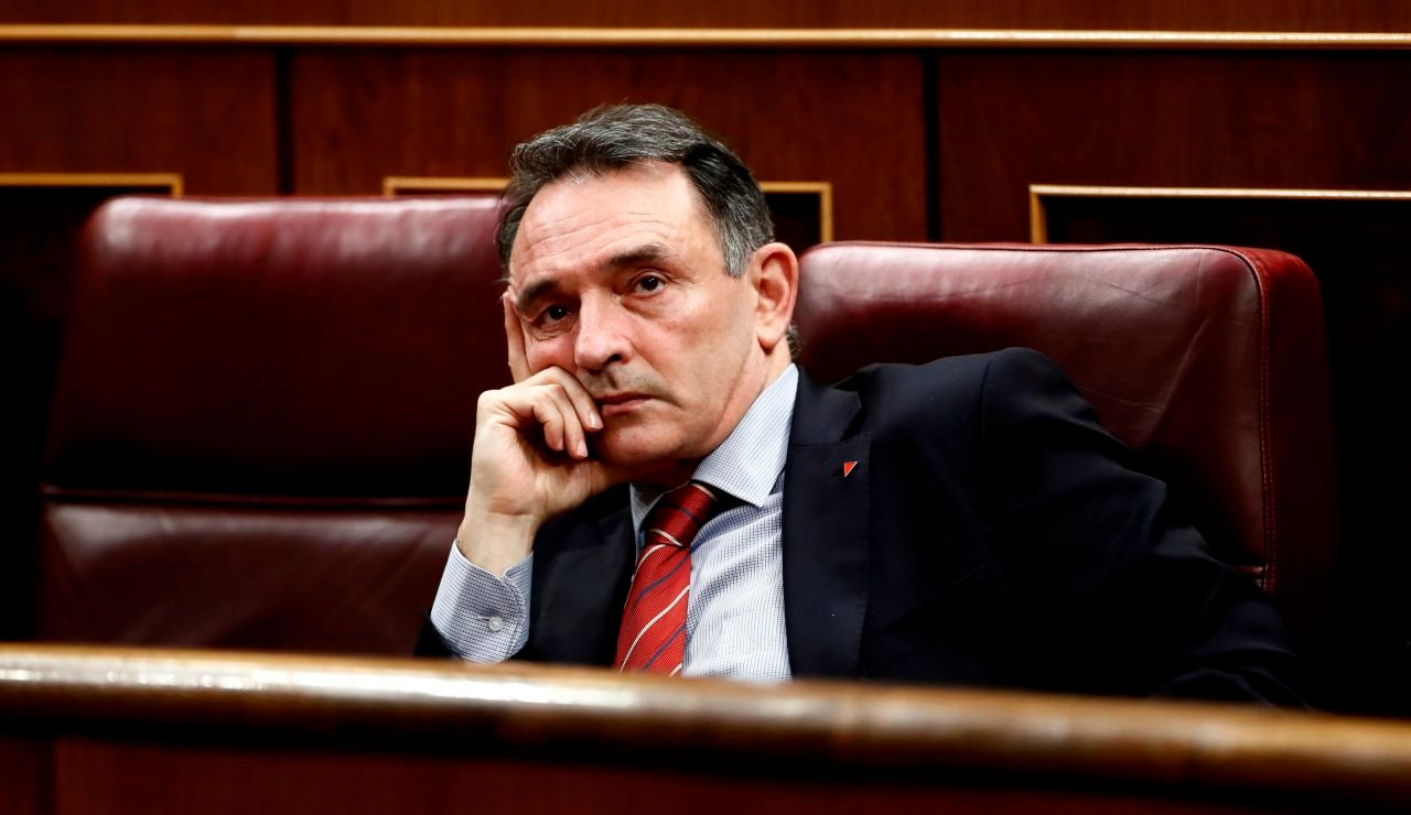 El diputado de Unidas Podemos-En Comú Podem-Galicia en Común Enrique Santiago