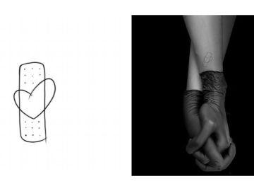 Tatuaje diseñado para sanitarios que luchan contra el COVID-19
