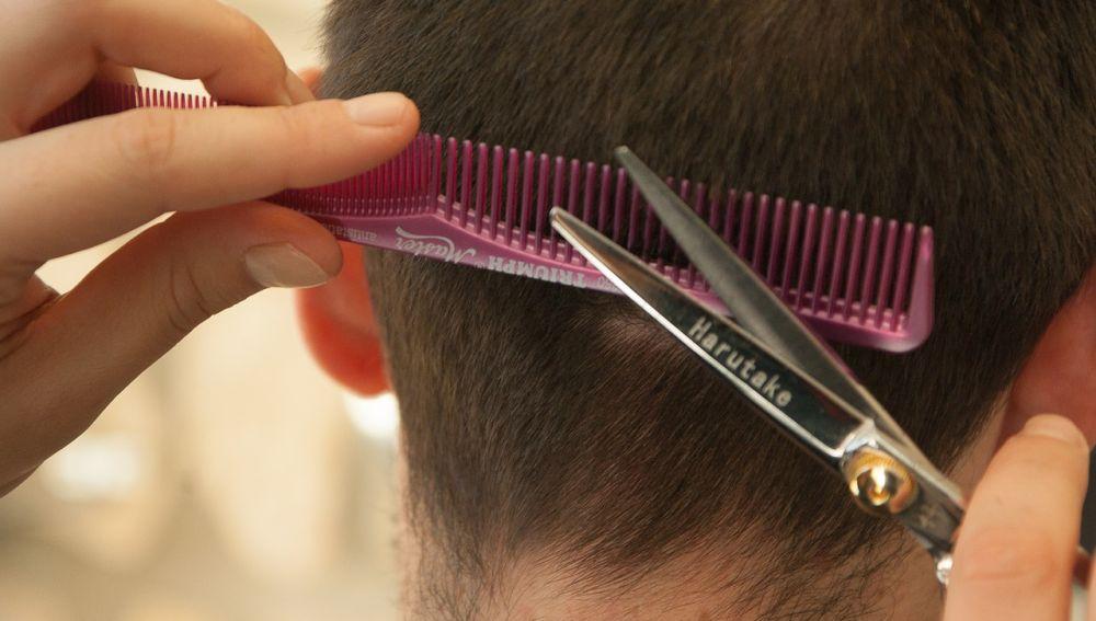 Cortando el pelo
