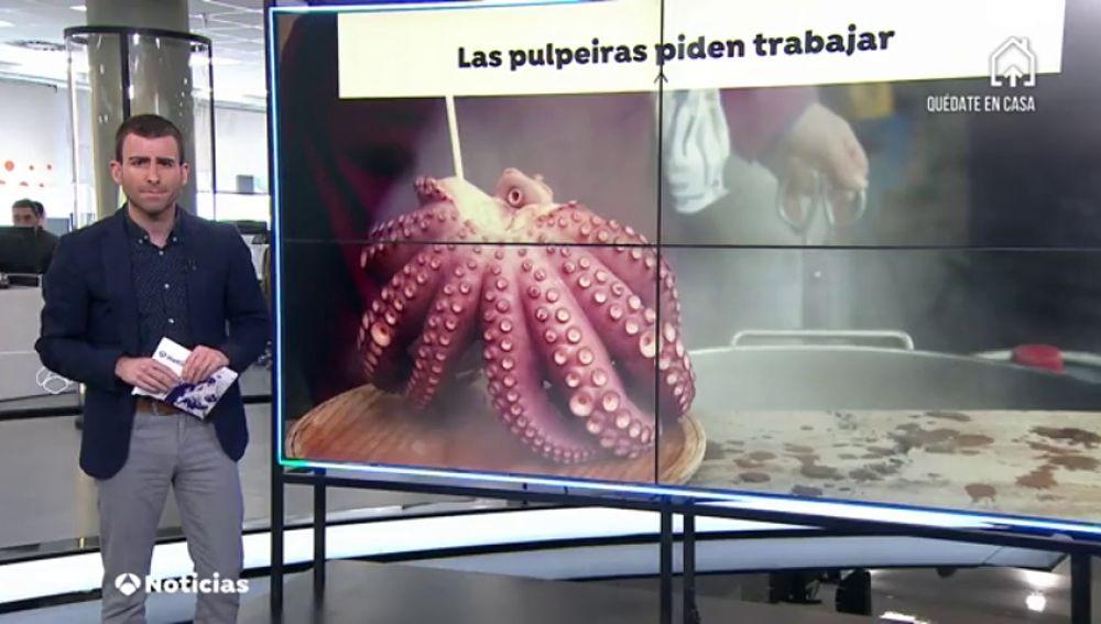 Las 'pulpeiras' reclaman volver a las calles de Galicia después de mes y medio paradas por el coronavirus
