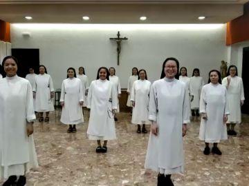 Unas monjas dominicas arrasan en las redes con una coreografía al ritmo de 'Resistiré'