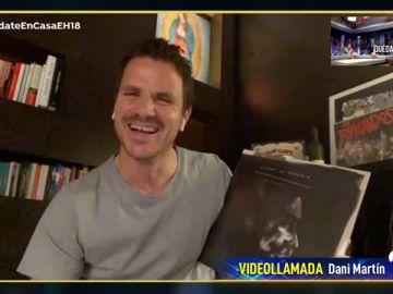 Dani Martín enseña parte de su gran colección de vinilos en 'El Hormiguero 3.0'