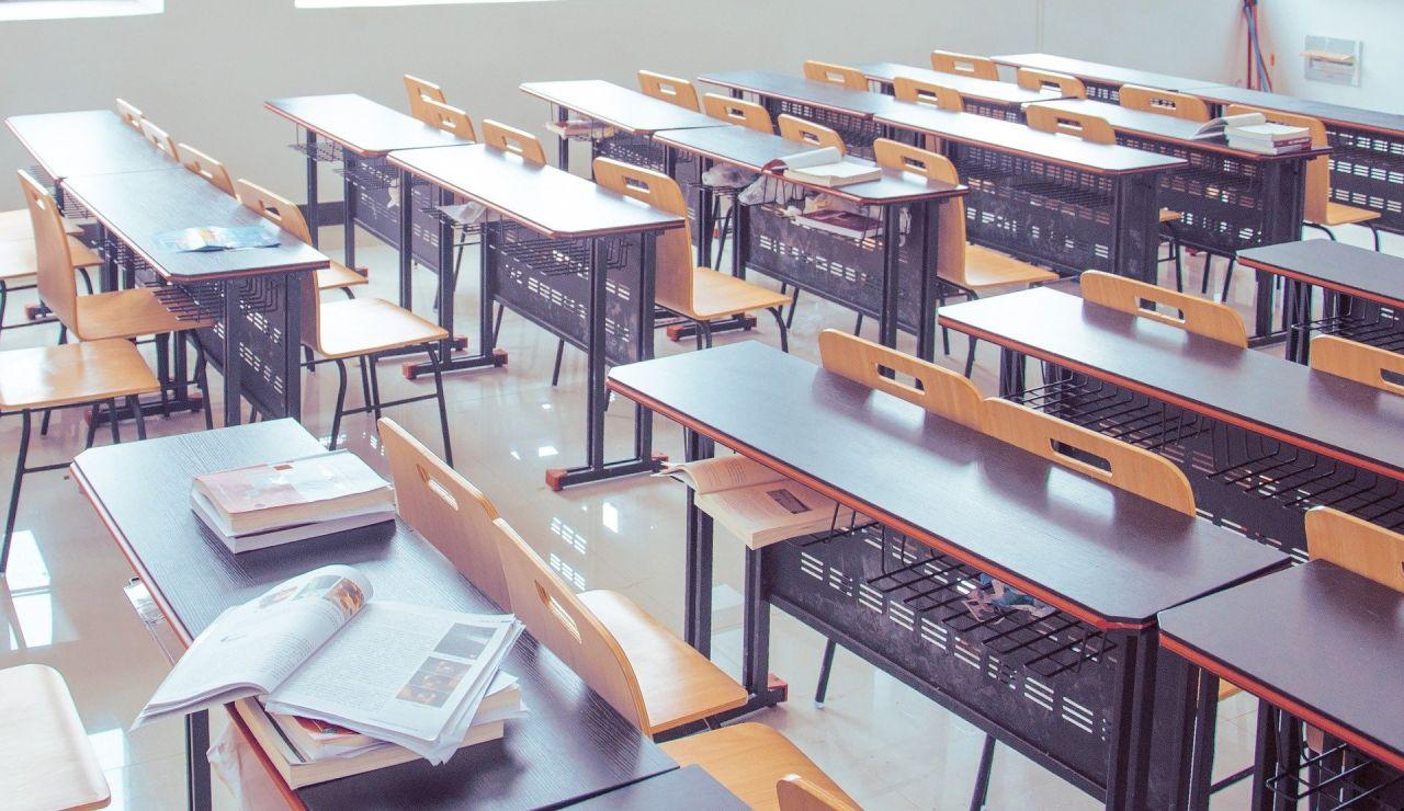 Las aulas siguen vacías por la epidemia