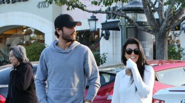 Kourtney Kadashian y Scott Disick