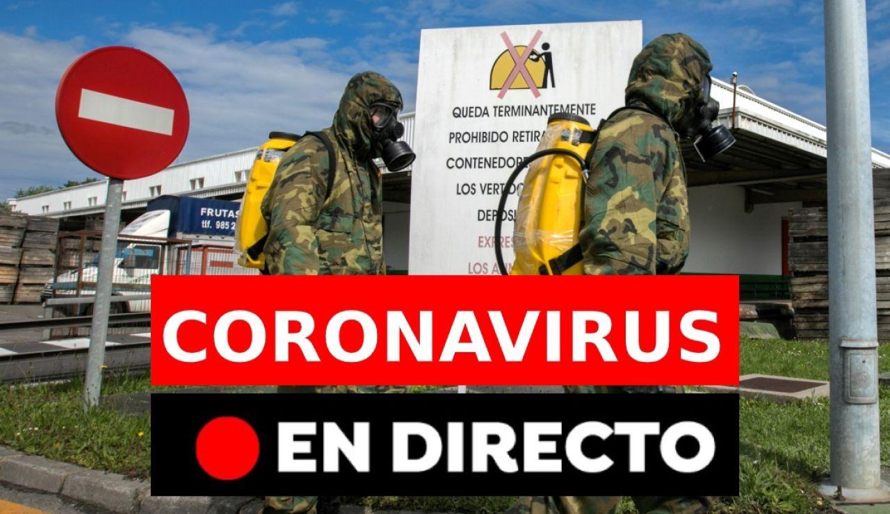 Coronavirus España: Últimas noticias de hoy martes 21 de abril, en directo | Última hora coronavirus
