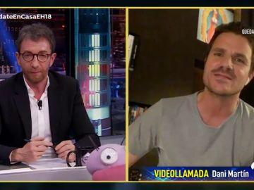 Disfruta de la entrevista al completo de Dani Martín en 'El Hormiguero 3.0: Quédate en casa'