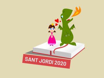 Sant Jordi 2020: La leyenda del dragón, la princesa y la rosa