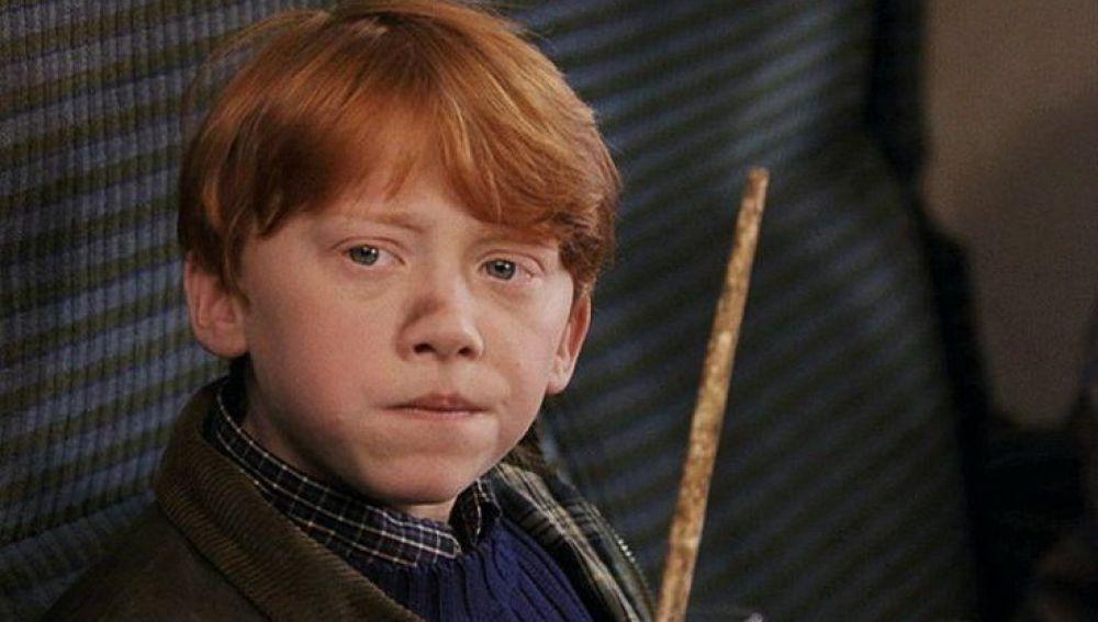 Ron Weasley en 'Harry Potter y la piedra filosofal'