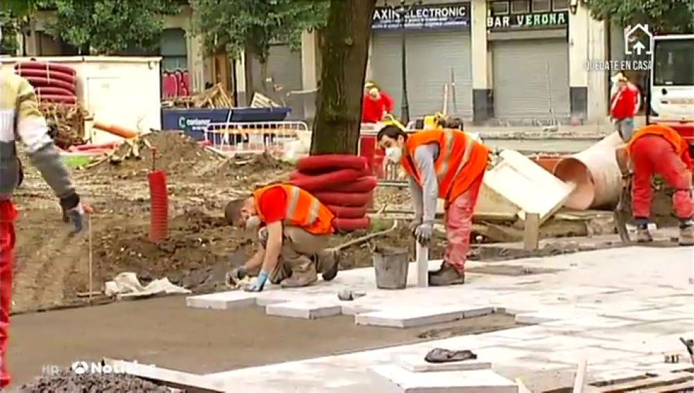Los Ayuntamientos aprovechan el confinamiento del coronavirus para hacer obras