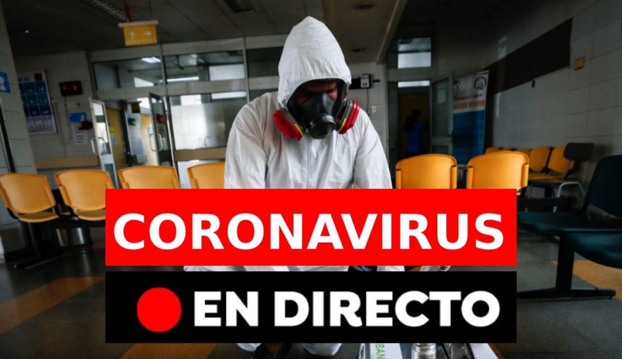 Coronavirus España | Última hora del coronavirus en España hoy: Contagiados, muertos y datos en directo