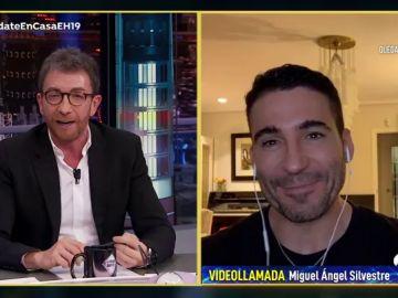 """""""Es una suerte"""", la confesión de Miguel Ángel Silvestre por estar pasando el confinamiento con una persona muy especial"""