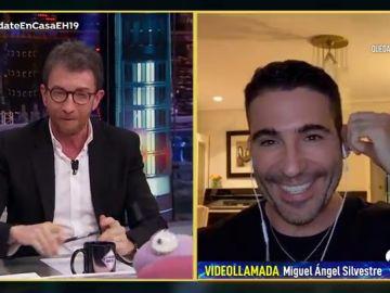 Disfruta de la entrevista completa a Miguel Ángel Silvestre en 'El Hormiguero 3.0: Quédate en casa'