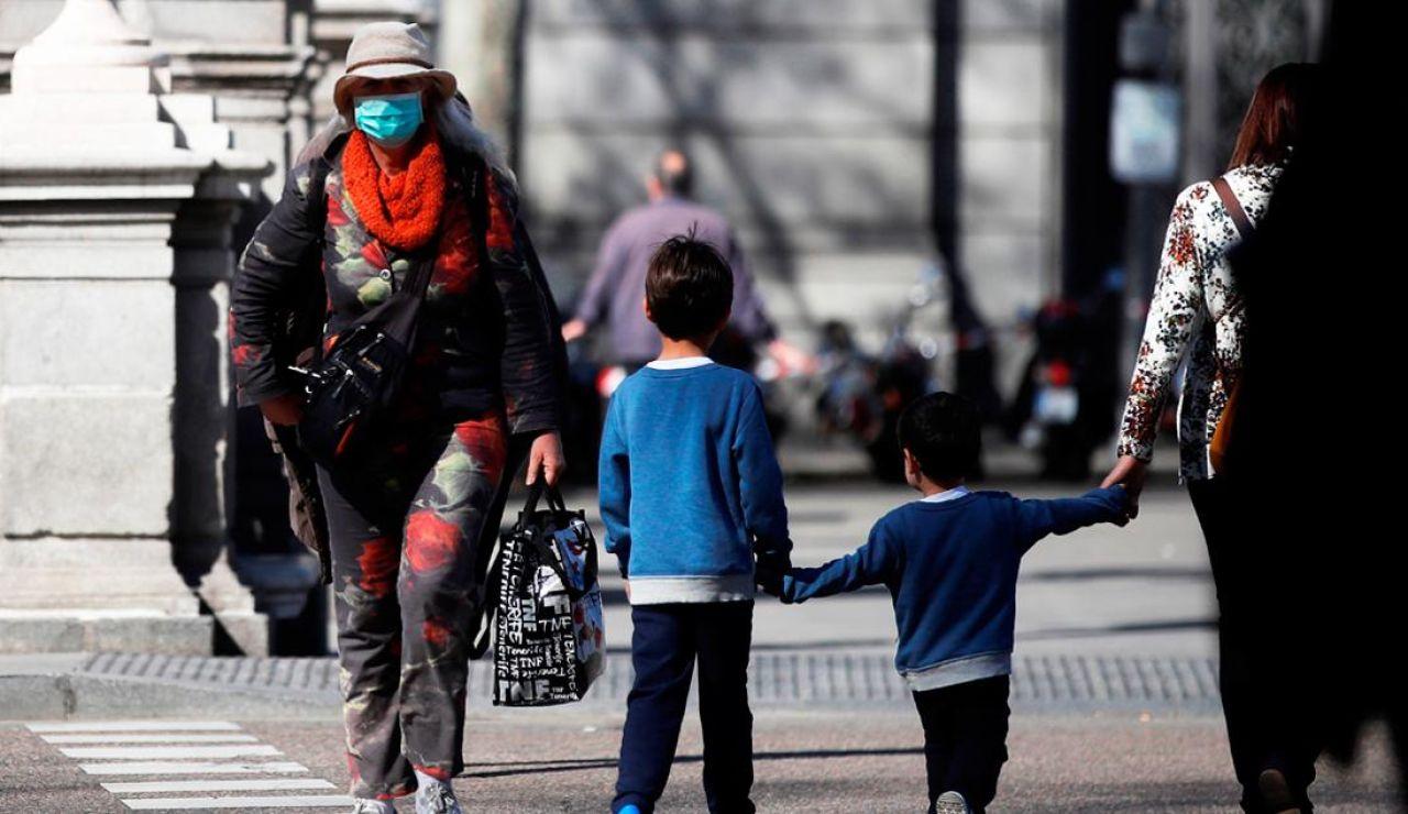 Niños en la calle