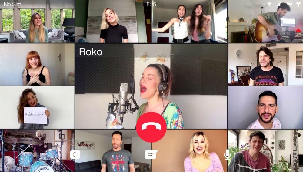 Varios concursantes de 'Tu cara me suena' participan en un vídeo solidario para encontrar la vacuna del coronavirus