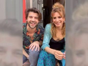 Anécdotas de Puente Viejo y recuerdos de 'Tu cara me suena' con Jordi Coll y Marta Tomasa en el directo de '#QuédateEnCasa'
