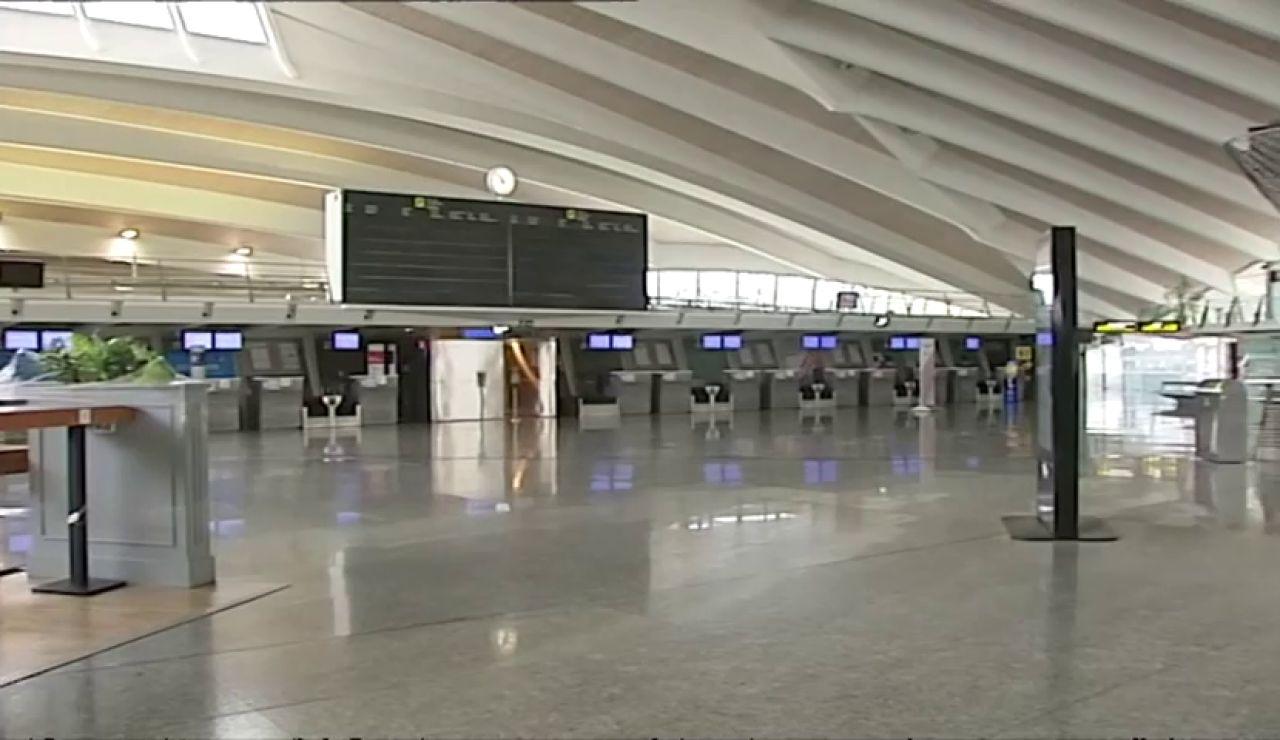 Aeropuertos vacíos: España será el país más castigado por las restricciones del coronavirus
