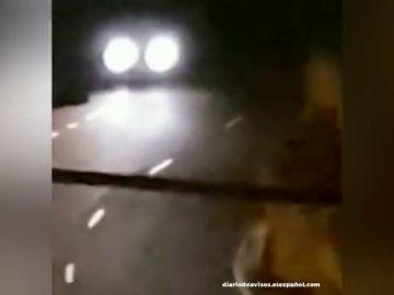 ´Multan a un conductor por circular a alta velocidad simulando un rally