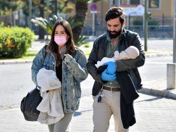 Rocío Osorno y su marido Jacobo Robatto