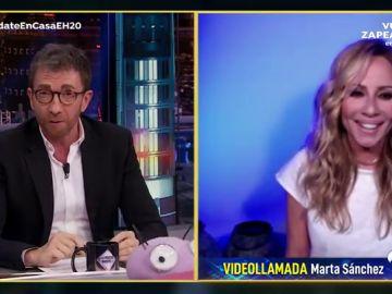 Disfruta de la entrevista completa a Marta Sánchez en 'El Hormiguero 3.0: Quédate en casa'