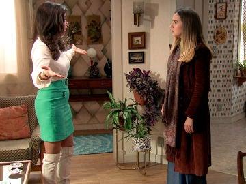 El juego de la seducción provoca una fuerte discusión entre Luisita y Amelia que lo cambiará todo