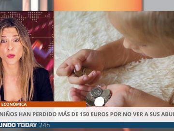 Los niños pierden dinero